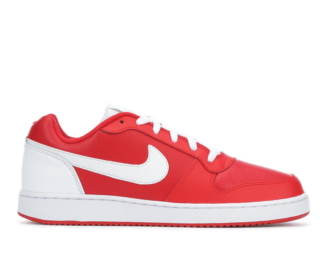 Men's Nike Ebernon Low Sneakers Red/Wht 600