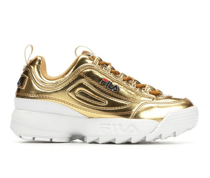 Women's Fila Disruptor II Premium Metallic Sneakers