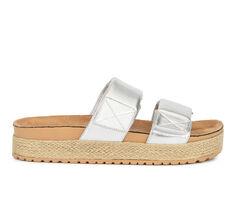 Women's Olivia Miller Palm Cove Flatform Sandals