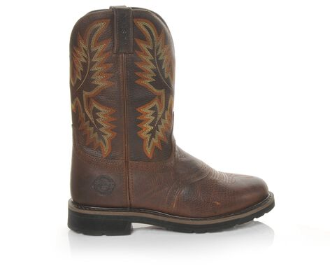 "Men's Justin Boots WK4655 Stampede 11"" Work Boots"