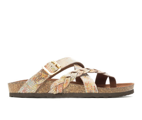 Women's White Mountain Hansen Footbed Sandals