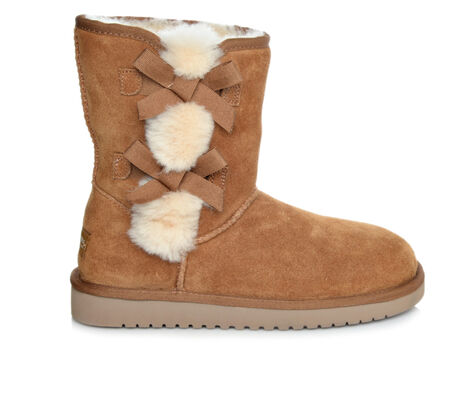 Women's Koolaburra by UGG Victoria Short Faux Fur Boots