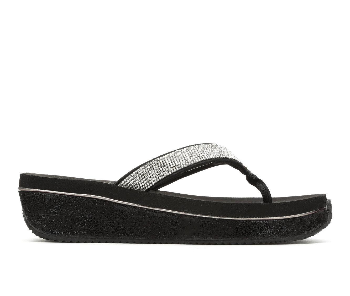 Women's Volatile Zabeel Platform Sandals Black