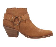 Women's Dingo Boot Buckskin Western Booties