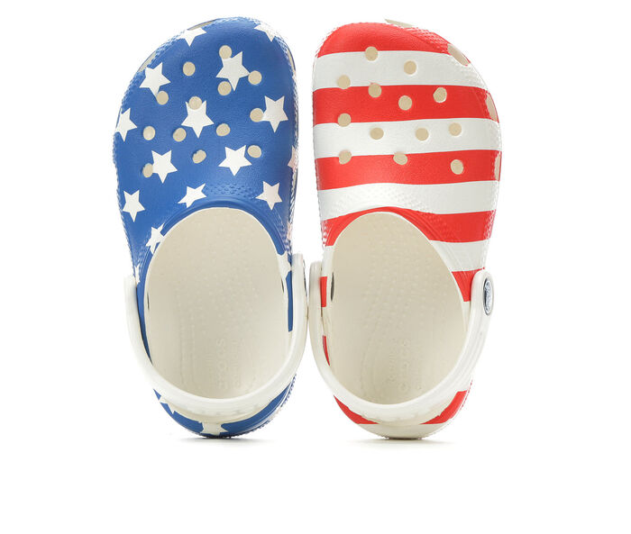 Kids' Crocs Infant & Toddler American Flag Classic Clog