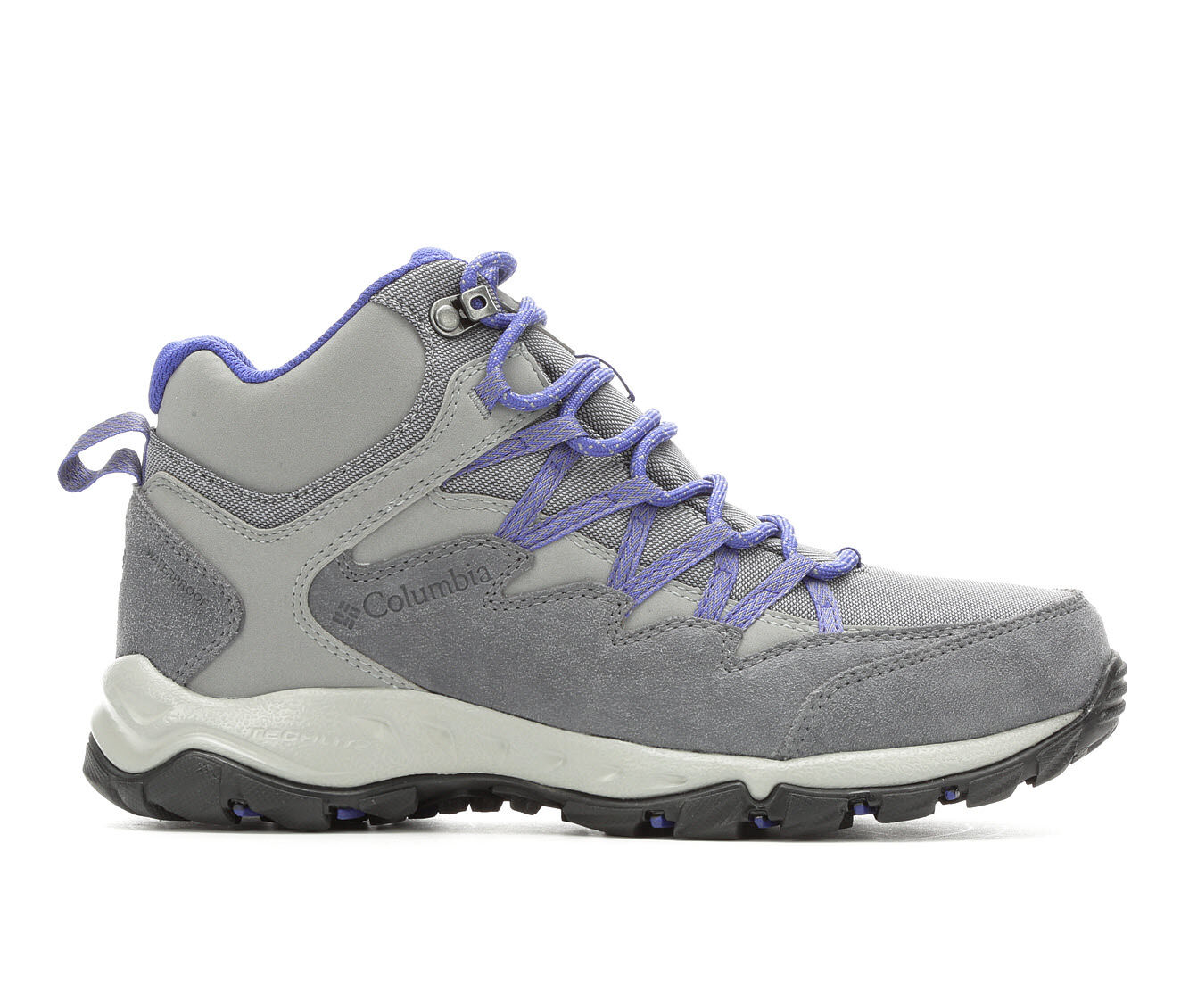 Women's Columbia Wahkeena MID WP Hiking Boots Steel Grey/Blue