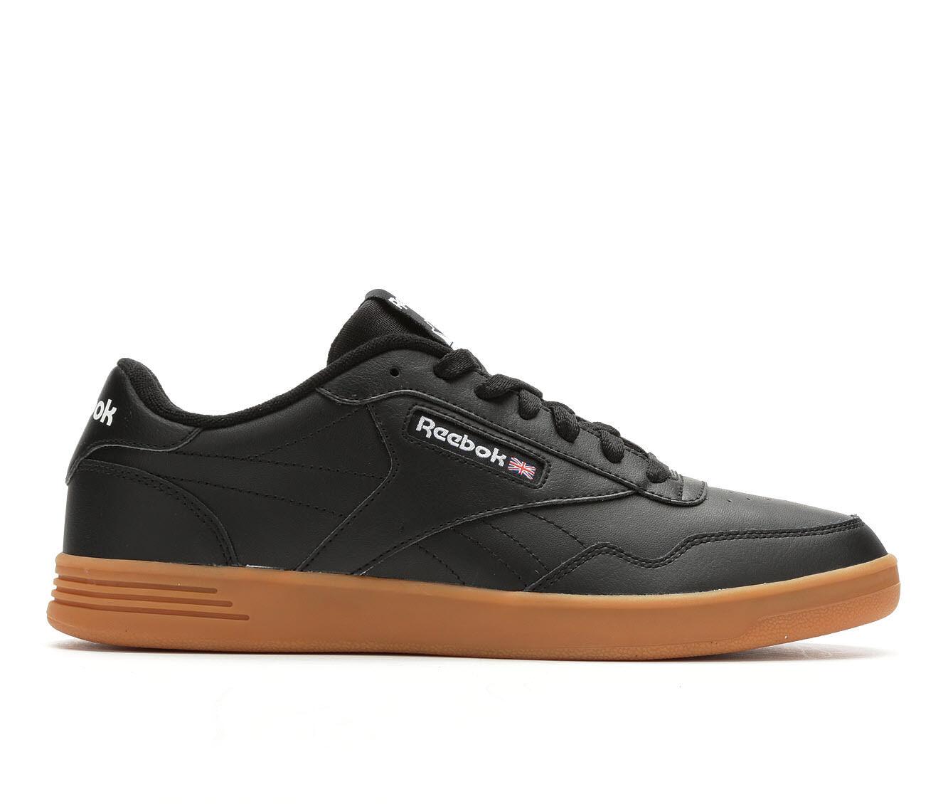 Men's Reebok Club MEMT Tennis Shoes Black/Gum/Wht