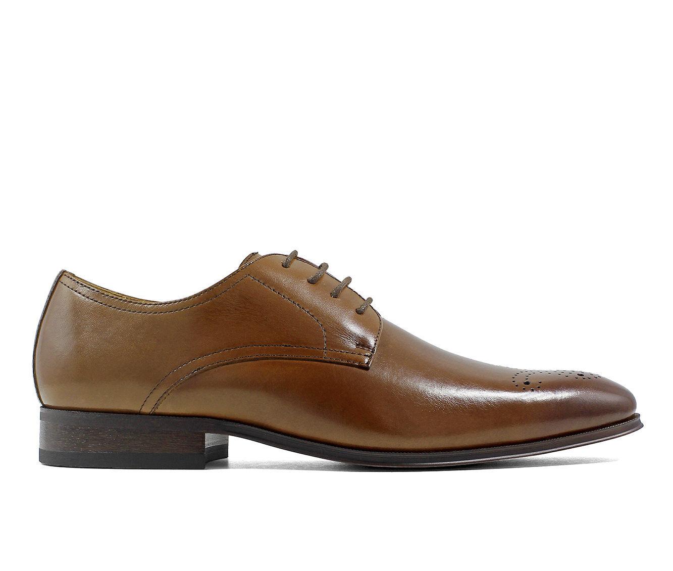 Men's Florsheim Corbetta Perforated Oxford Dress Shoes Scotch