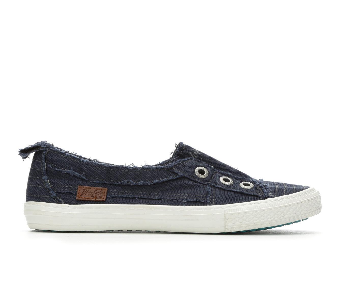 Women's Blowfish Malibu Aussie Slip-On Sneakers Navy