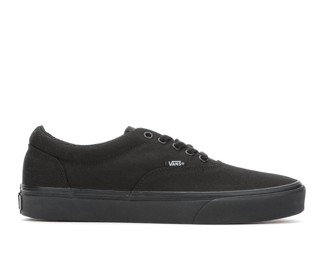 Men's Vans Doheny Skate Shoes Black/Black