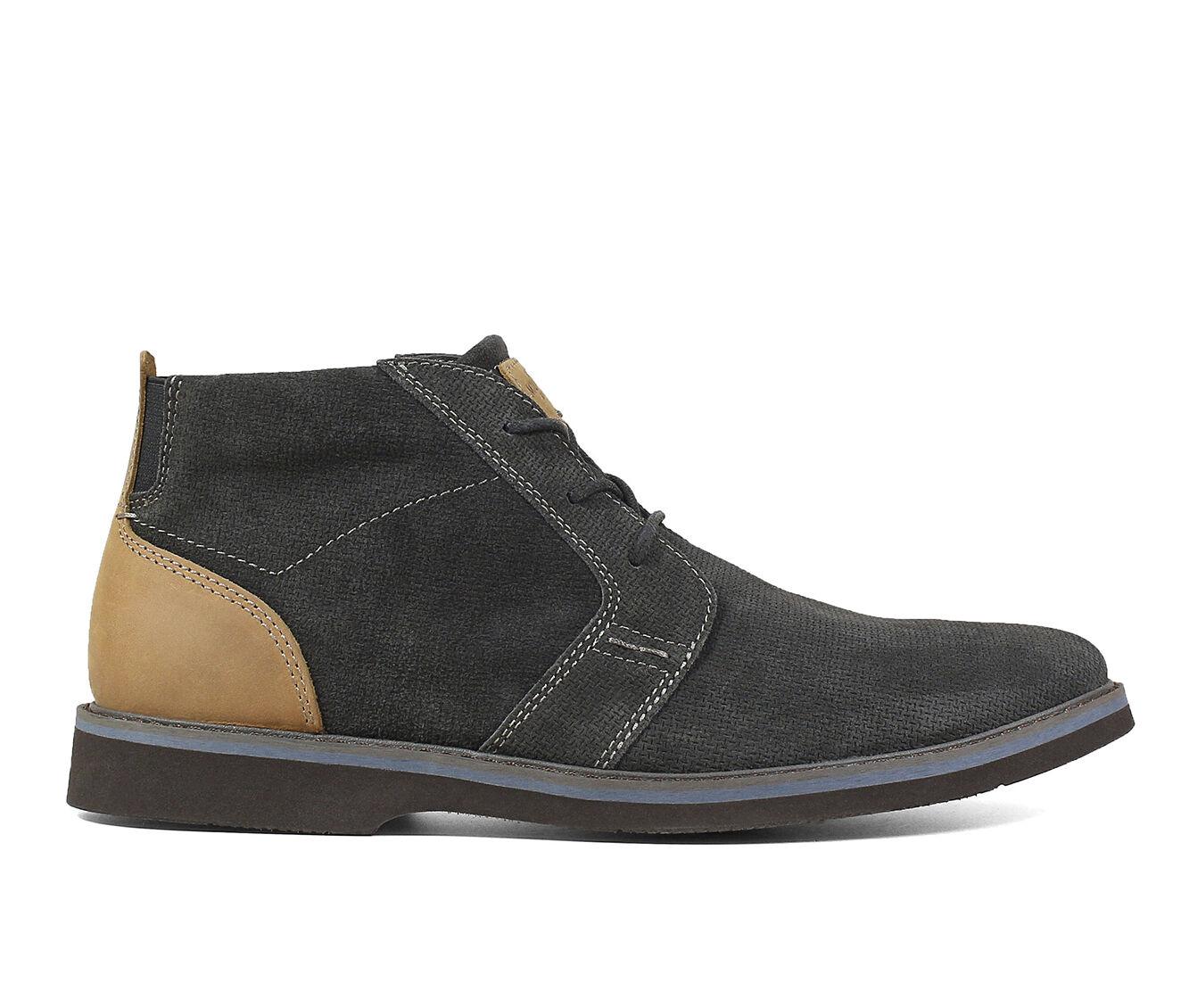 purchase cheap new Men's Nunn Bush Barklay Plain Toe Chukka Dress Shoes Gray Multi