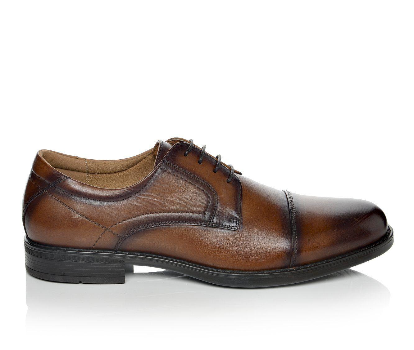 Men's Florsheim Midtown Cap Toe Oxford Dress Shoes Cognac