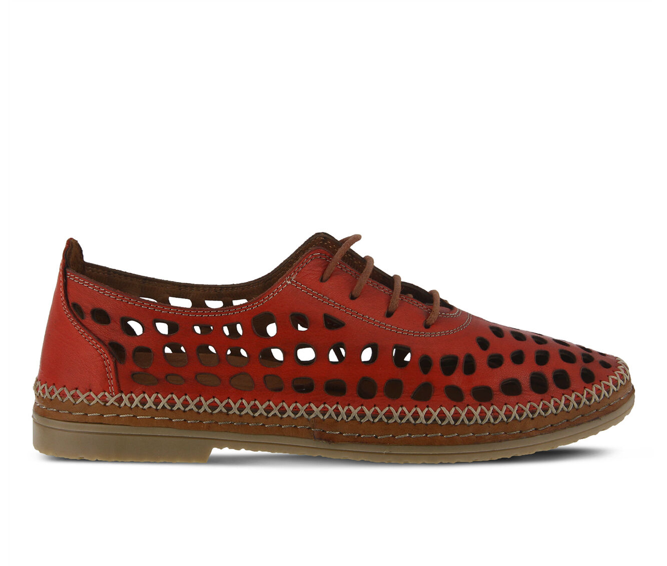 Women's SPRING STEP Bernetta Shoes Red