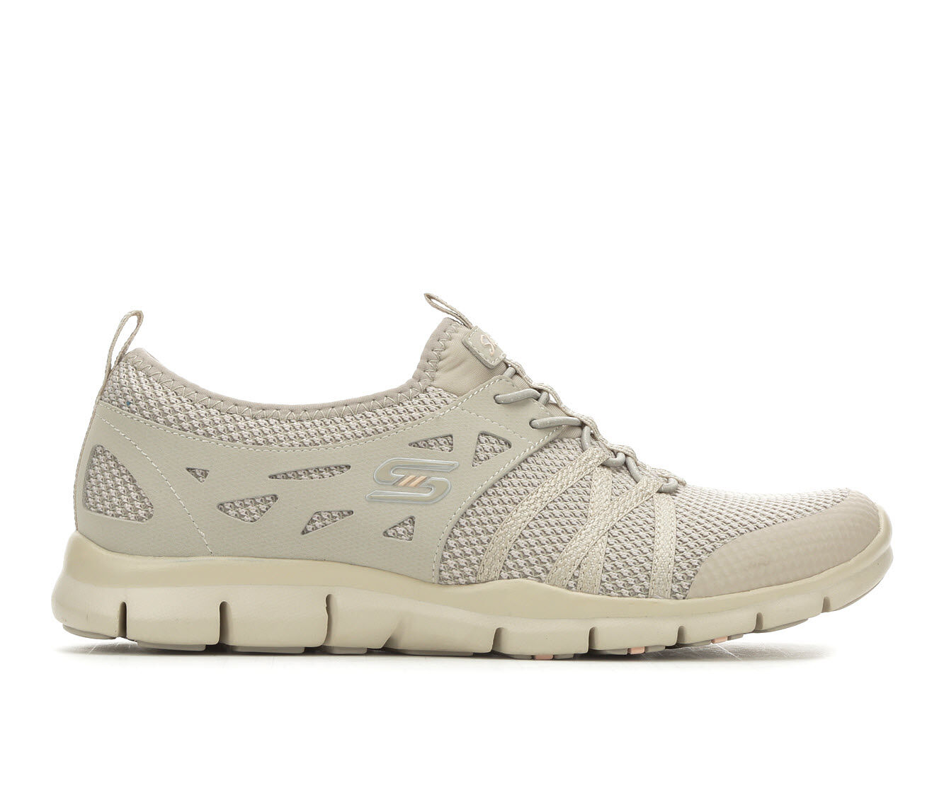 Women's Skechers What A Sight 23360 Slip-On Sneakers Taupe