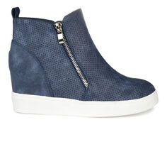 Women's Journee Collection Pennelope Wedge Sneakers