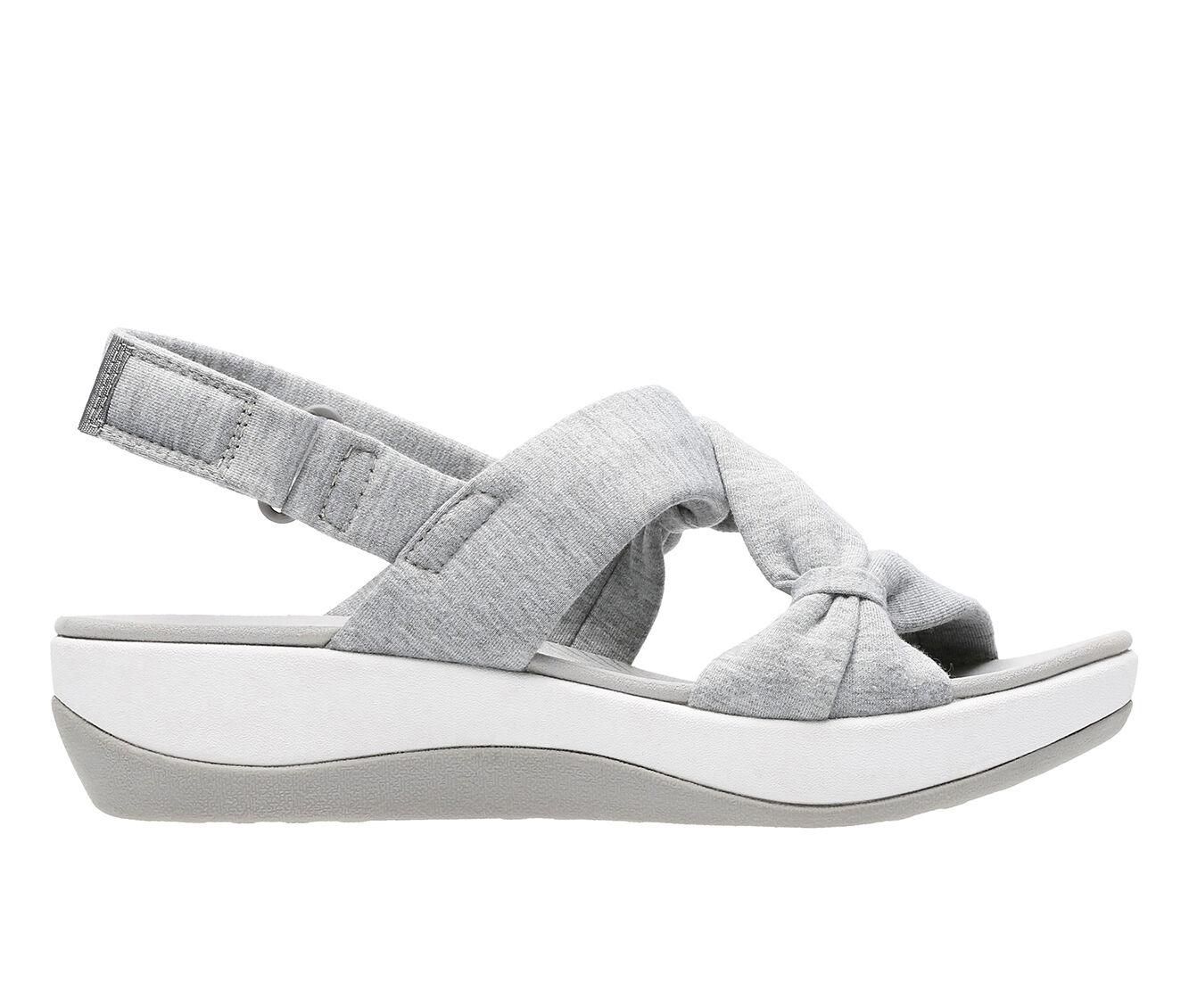 Women's Clarks Arla Primrose Sandals Grey