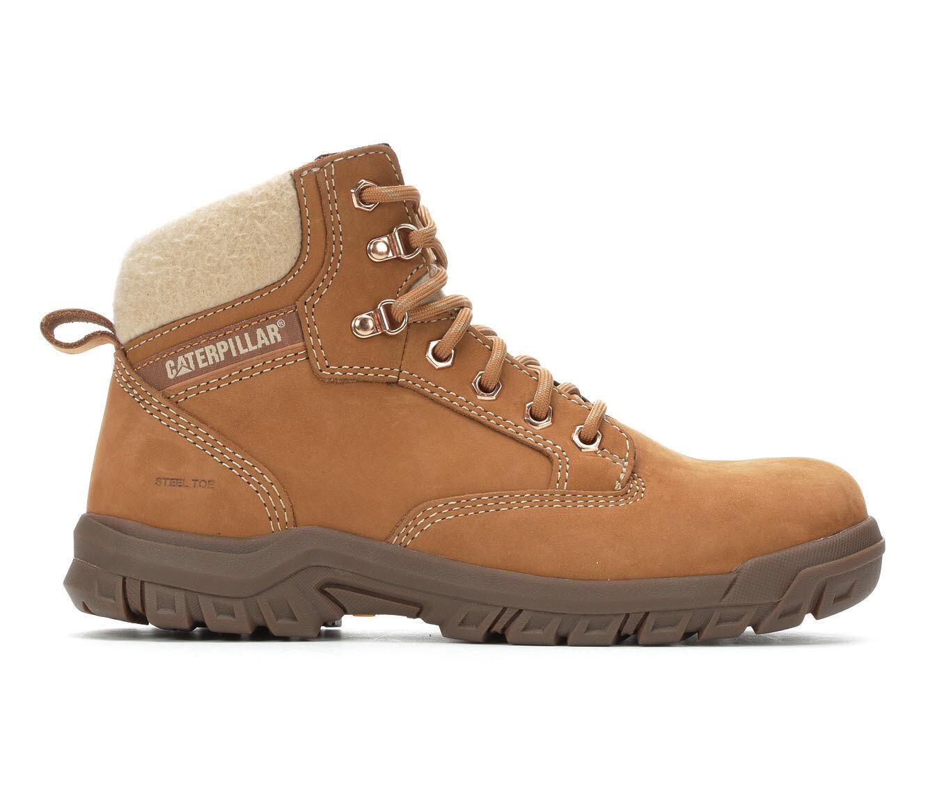 Women's Caterpillar Tess 6in Steel Toe Work Shoes Sundance