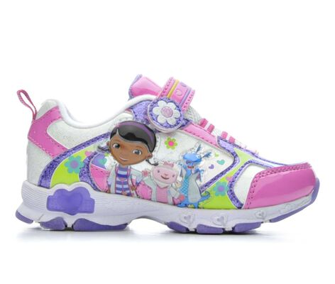 Girls' Disney Doc McStuffins 6 5-12 Light-Up Shoes