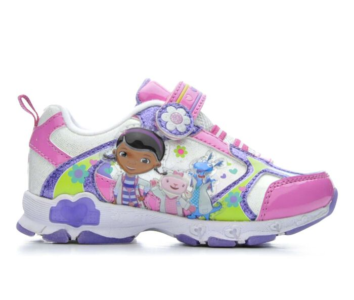 Girls' Disney Doc McStuffins 6 5-12 Light-Up Shoes