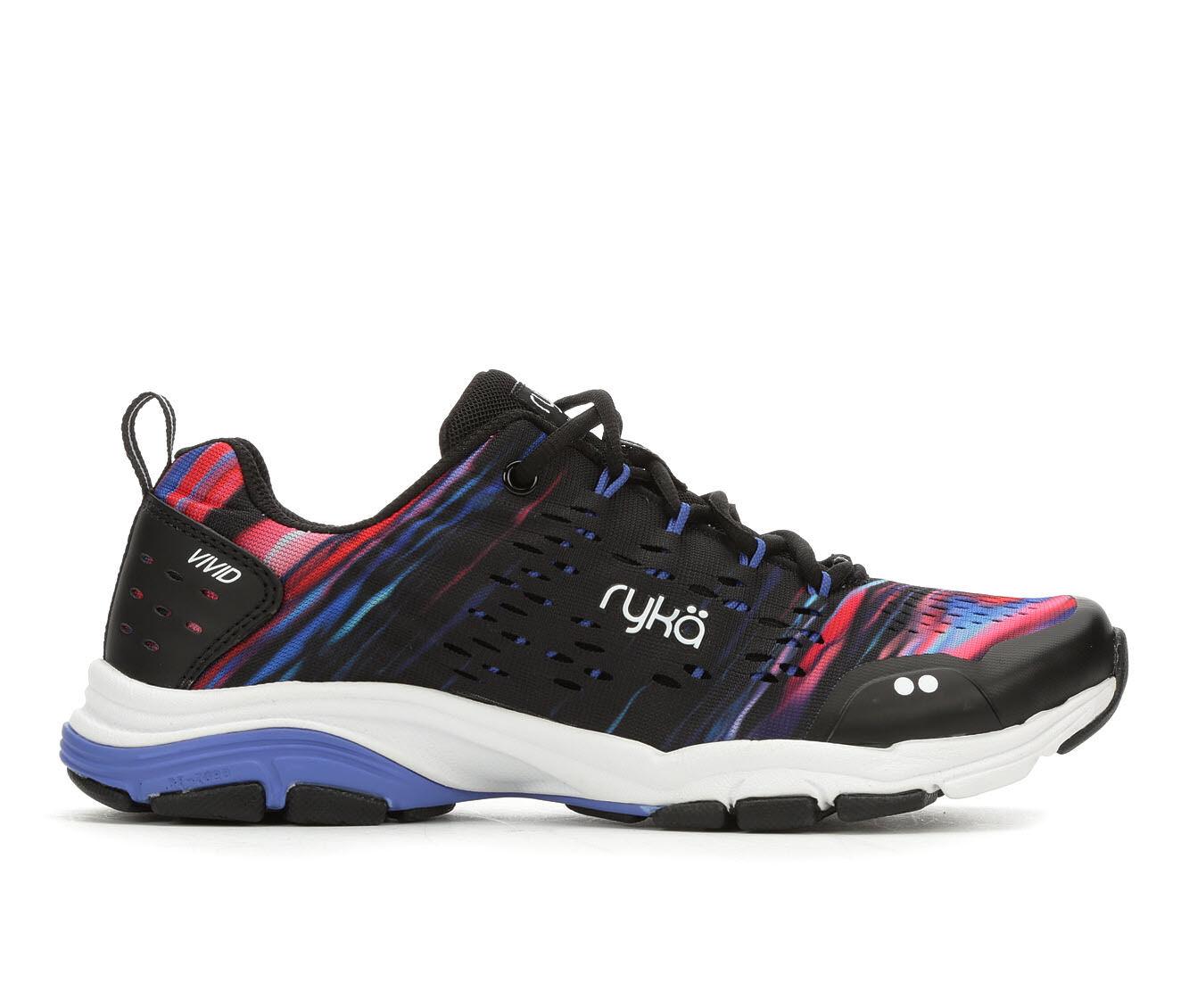 Women's Ryka Vivid RZX Training Shoes Black Multi