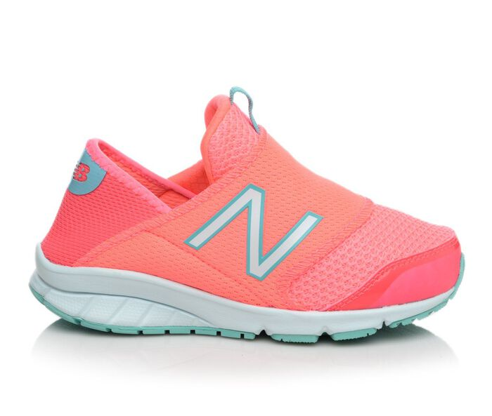 Girls' New Balance K150SPGY Slip On 10.5-5 Running Shoes