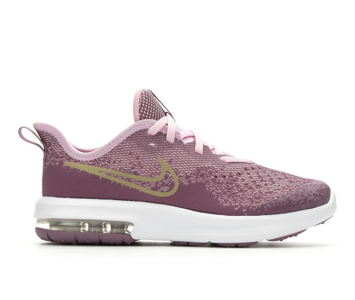 Girls' Nike Little Kid Air Max Sequent 4 Running Shoes