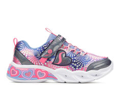 Girls' Skechers Little Kid Sweetheart Lights Light-Up Shoes