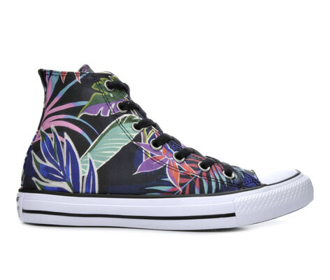 Women's Converse Tropical Print High Sneakers