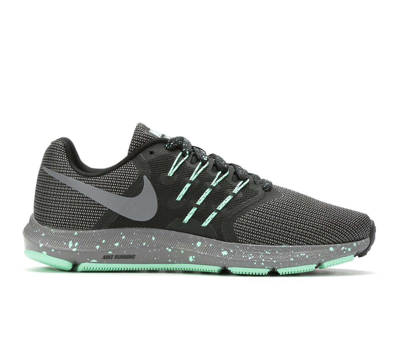Women's Nike Run Swift SE Running Shoes Blk/Gry/Green