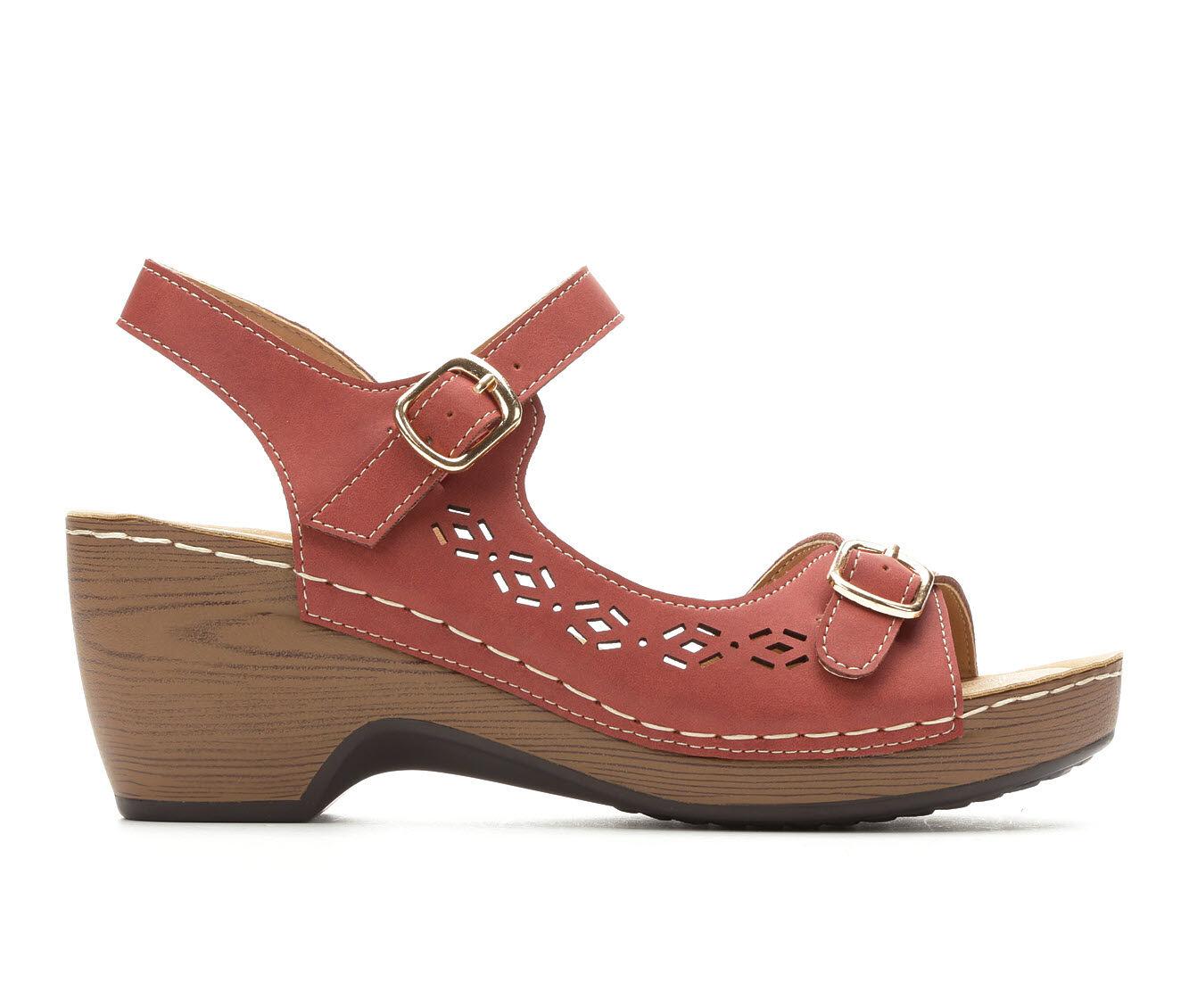 New Style Women's Patrizia Shantay Heeled Sandals Dark Red