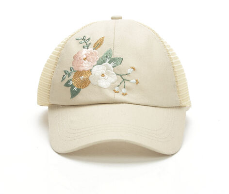 Collection 18 Pretty Floral Trucker Hat