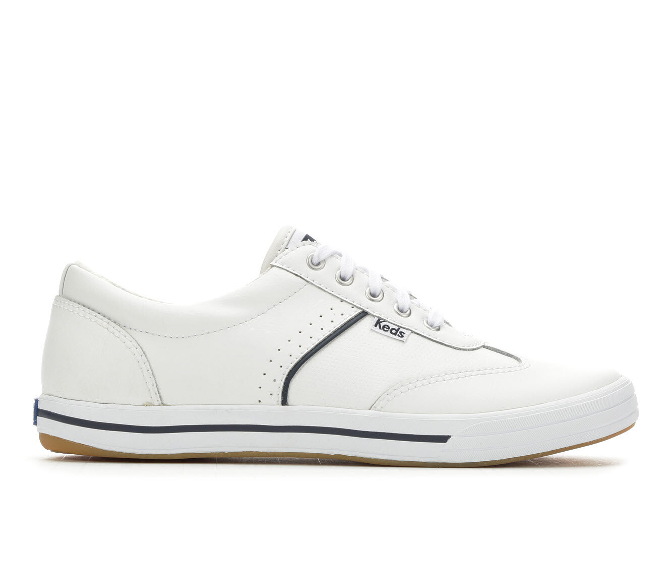 Women's Keds Courty Leather Sneakers White
