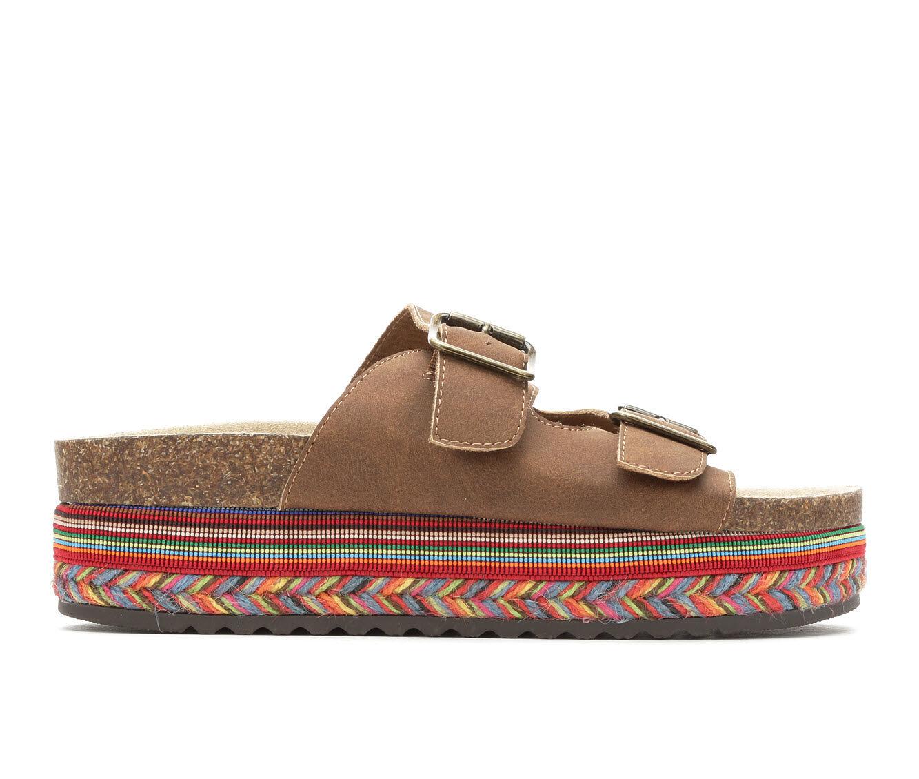 Women's Seven Dials Beverlyn Footbed Flatform Sandals Brown