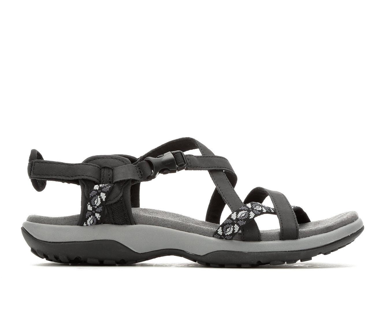 Women's Skechers Reggae Slim Vacay Hiking Sandals Black