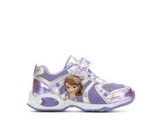 Girls' Disney Sofia 8 Velcro Sneakers