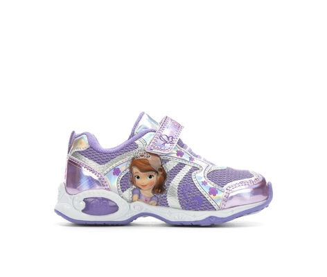 Girls' Disney Sofia 8 Velcro Sneakers