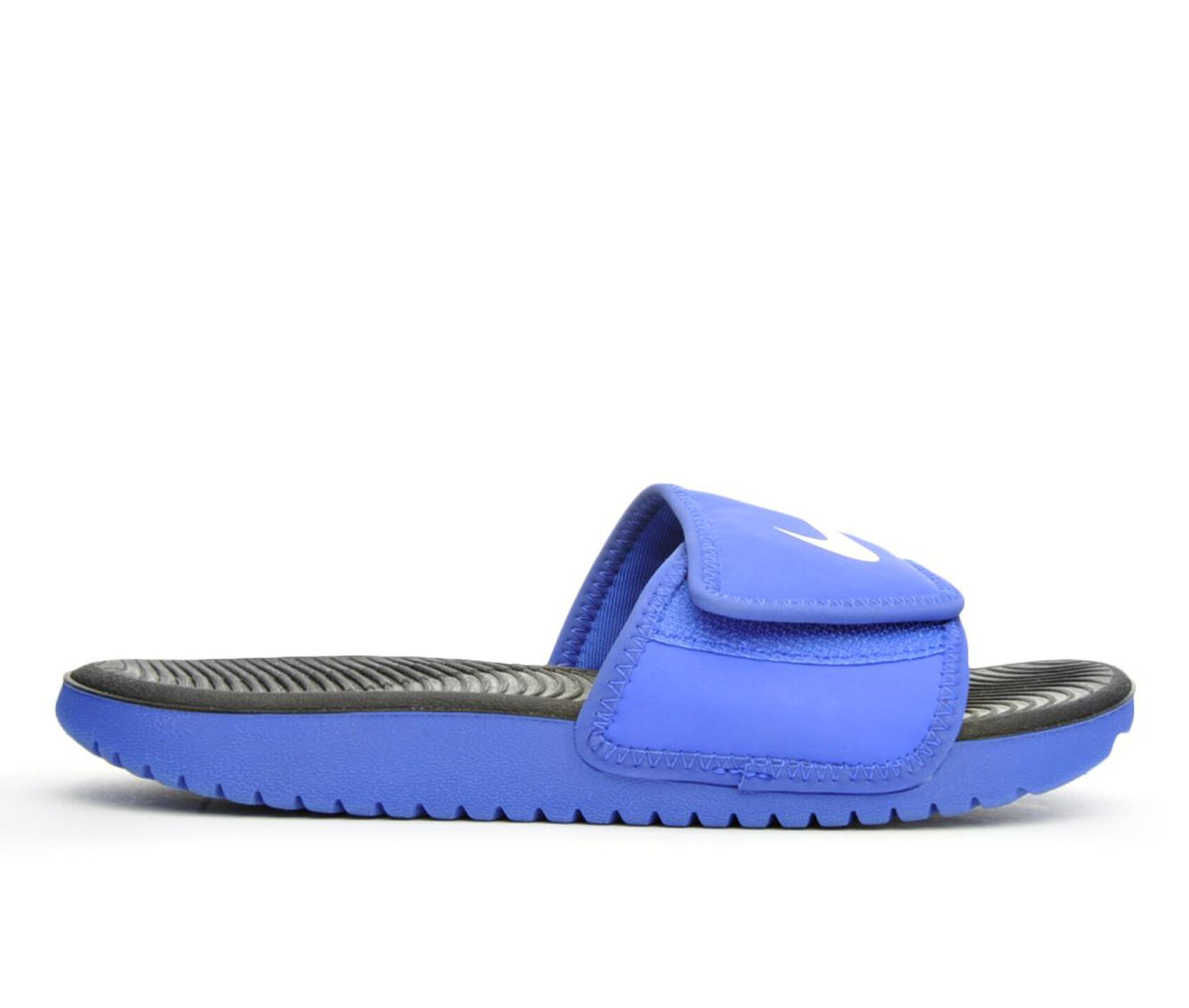 b71208200994 Boys' Nike Little Kid & Big Kid Kawa Adjust Sport Slides | Shoe Carnival