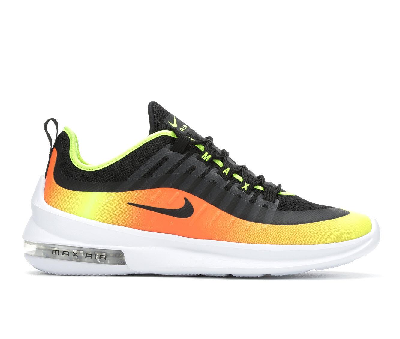 Men's Nike Air Max Axis Premium Sneakers Or/Bk/Wh/Vt 006