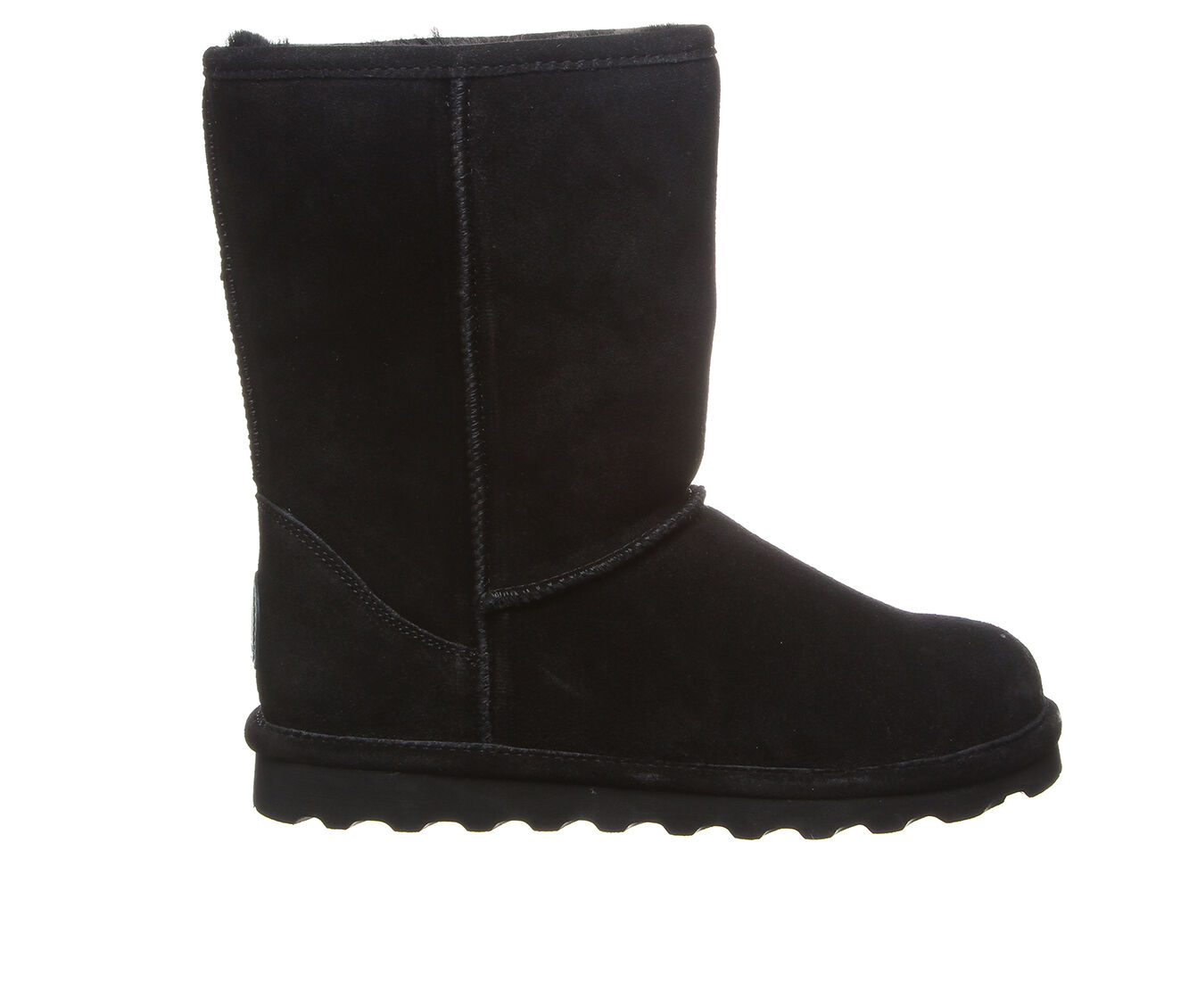 Women's Bearpaw Elle Short Wide Boots Black