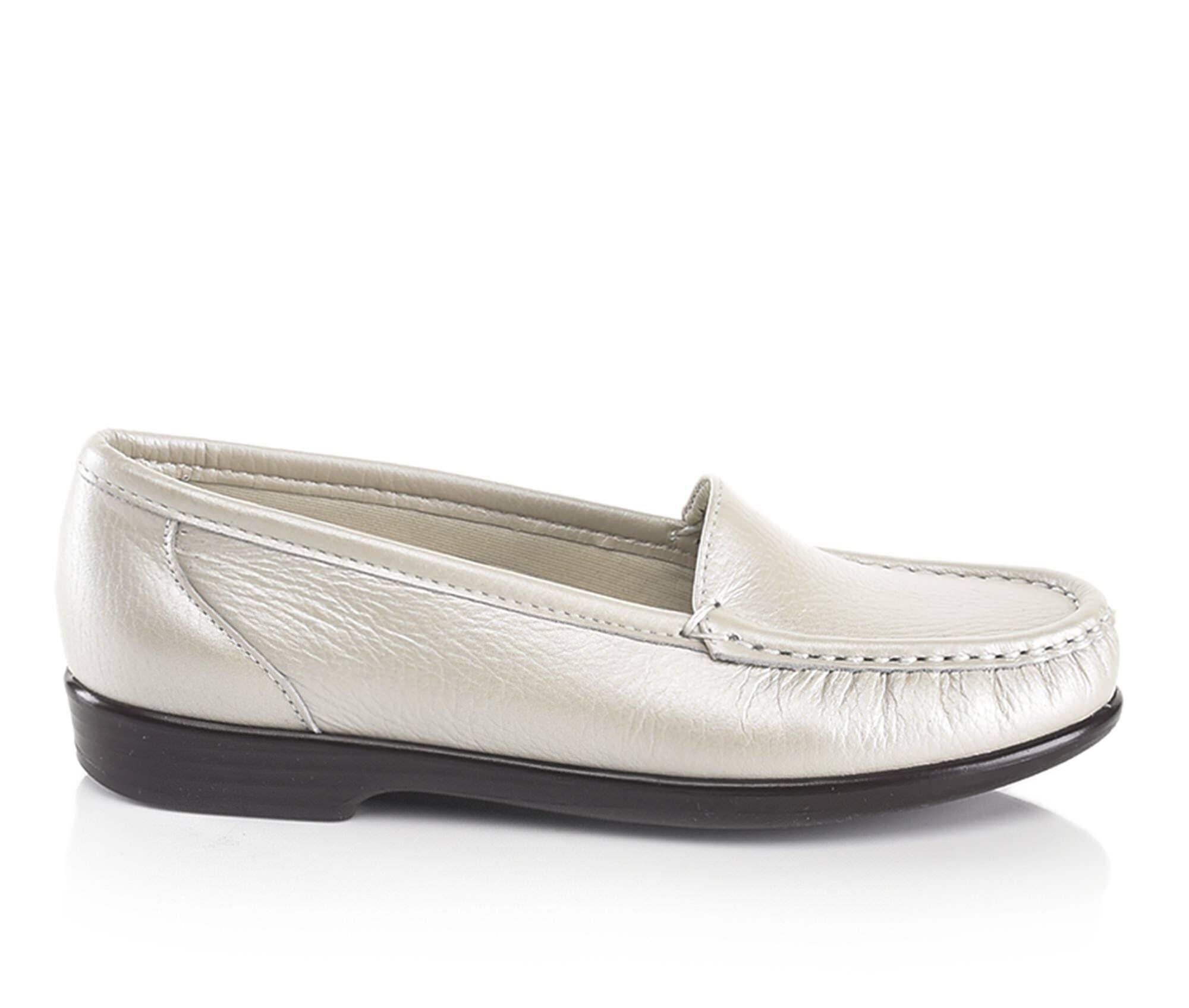 Wholesale Women's Sas Simplify Loafers Pearl Bone