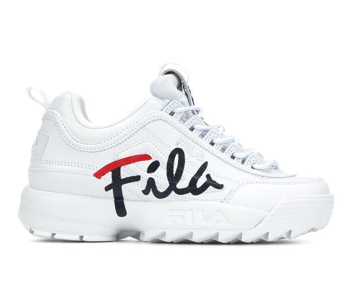 Women's Fila Disruptor II Script Sneakers