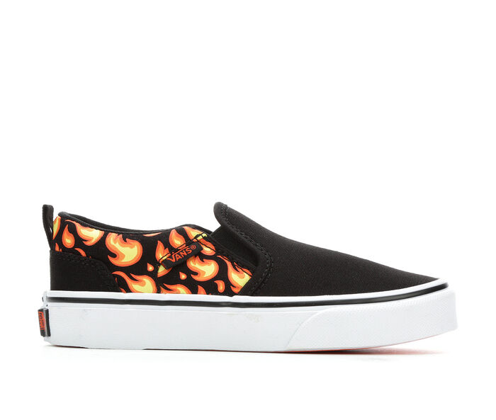 Boys' Vans Little Kid & Big Kid Asher Slip-On Skate Shoes