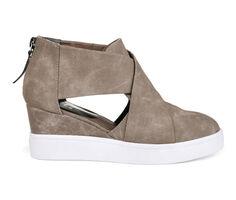 Women's Journee Collection Seena Wedge Sneakers