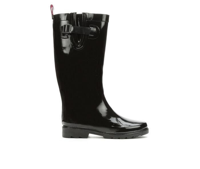 Women's Capelli New York Shiny Solid Tall Rain Boots