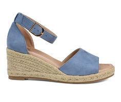 Women's Journee Collection Keana Espadrille Wedges
