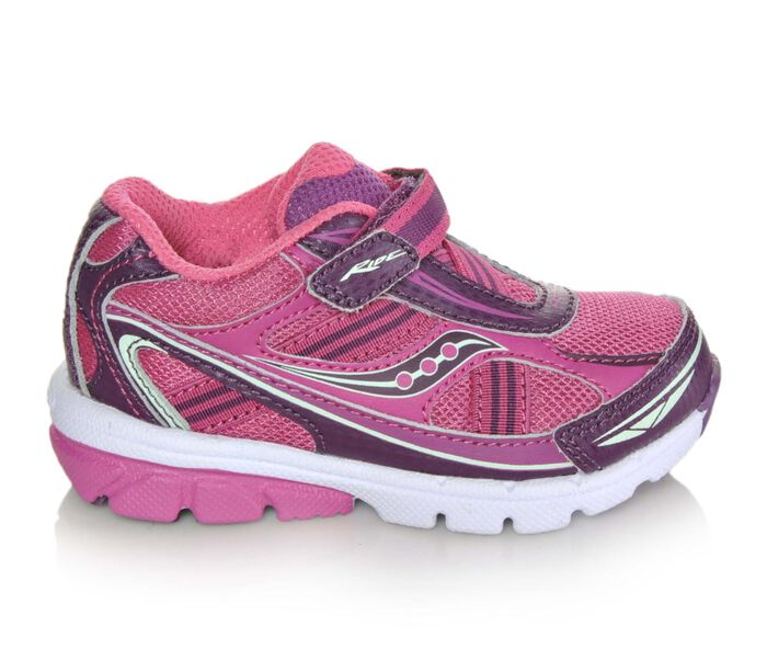 Girls' Saucony Infant Baby Ride 4-12 Girls Athletic Shoes