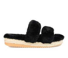 Journee Collection Relaxx Cozy Espadrille Slide Sandals