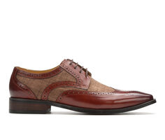 Men's Stacy Adams Kemper Wingtip Dress Oxfords