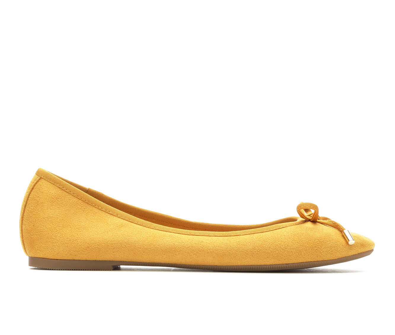 Women's No Parking Larsah Flats Mustard