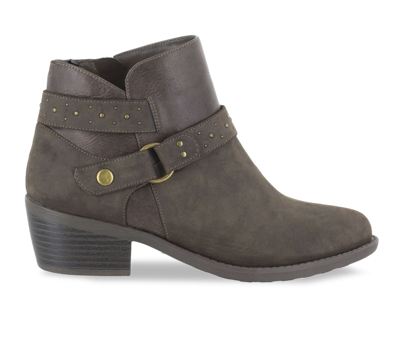 Women's Easy Street Leda Booties Smoke